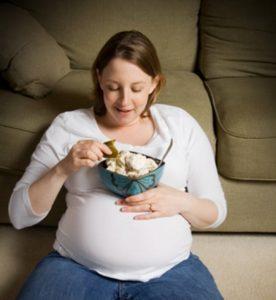 избыточный вес во время беременности