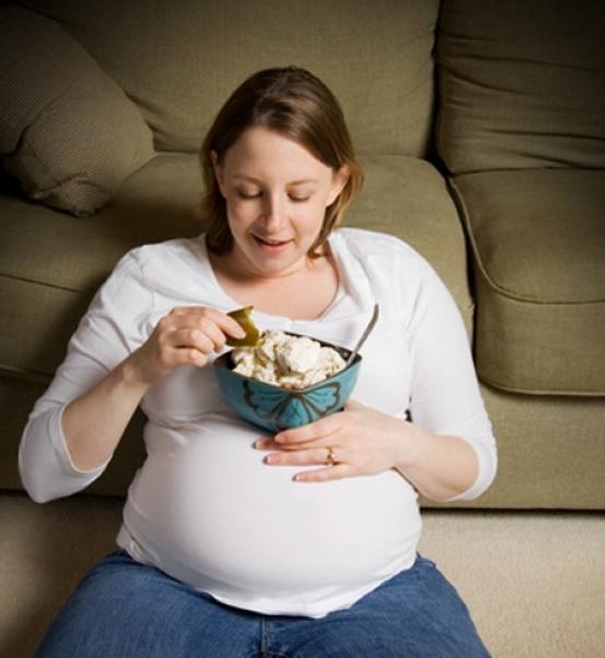 Как беременные набирают вес 47