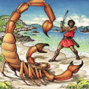 миф о скорпионе и Орионе