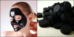 маска из угля