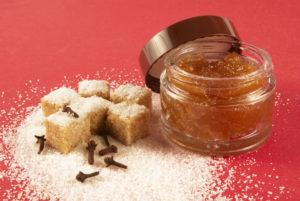 скраб для волос из коричневого сахара