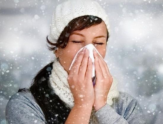 чихание на холод