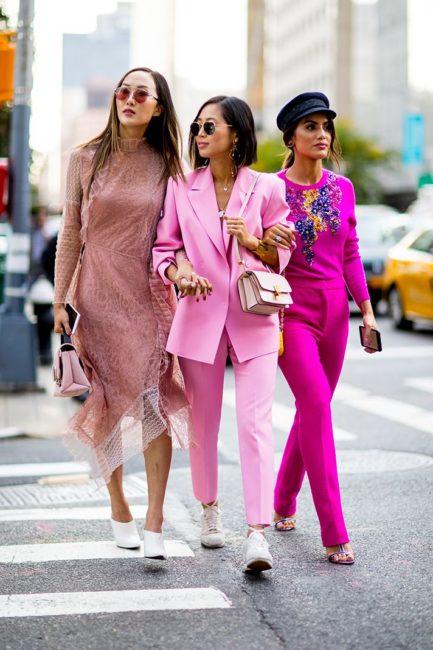 уличная мода весна лето 2019