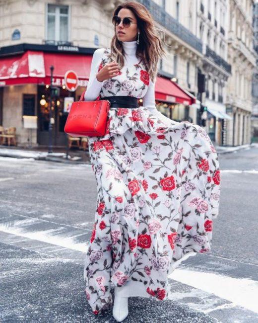 уличный стиль платье 2019