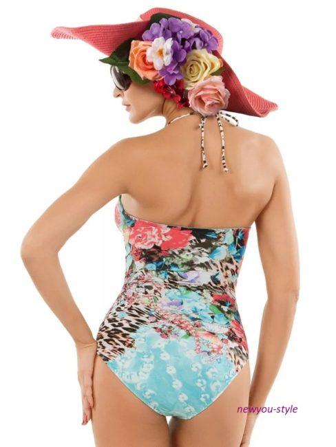 модная пляжная шляпка