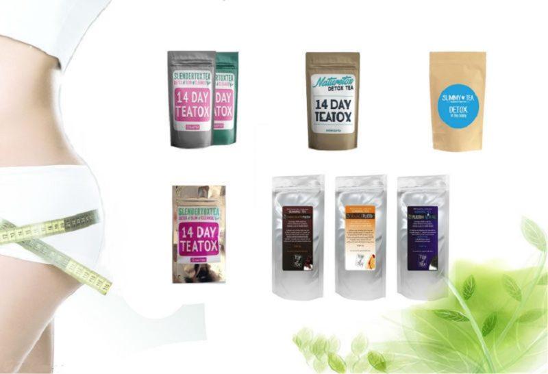 виды чая детокс для похудения