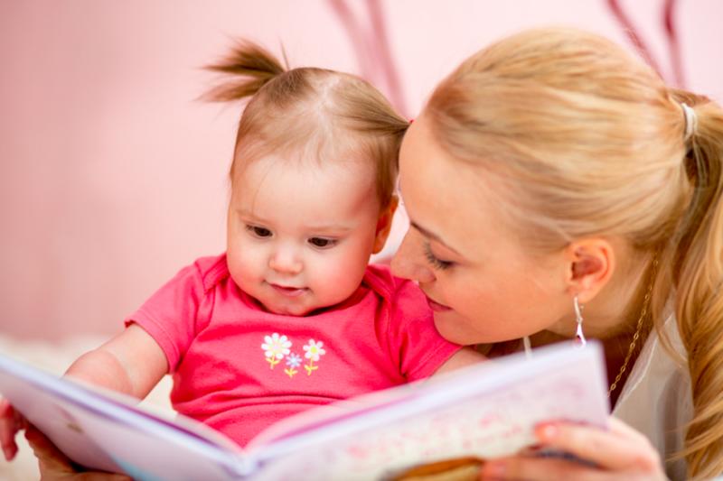 чтение книги с малышом 2 лет