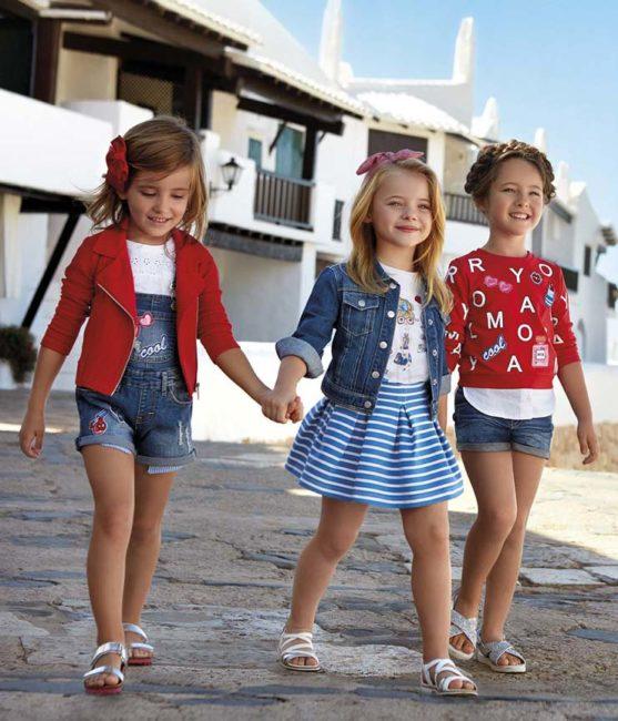коллекция детской одежды майорал