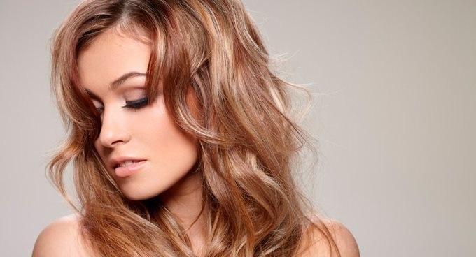 красивые тонированые волосы