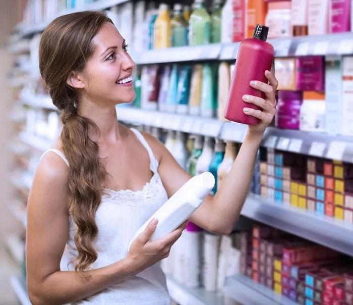 магазинный шампунь