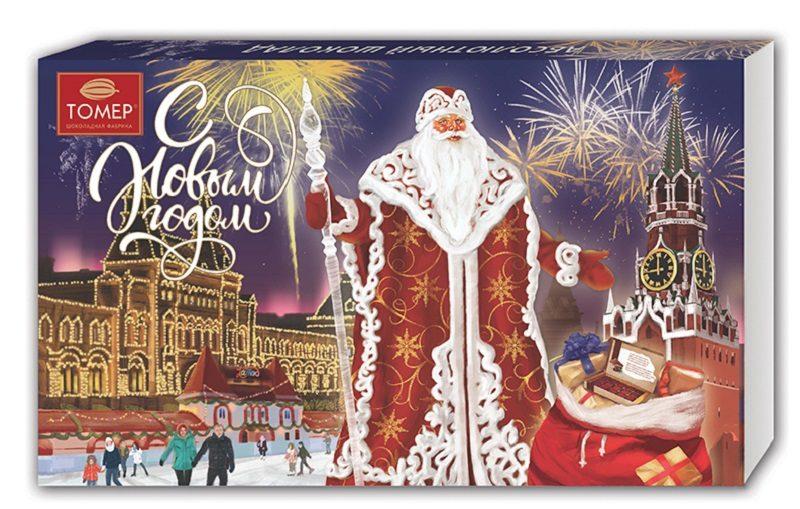новогодние конфеты Томер