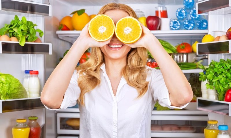продукты для глаз - витамины