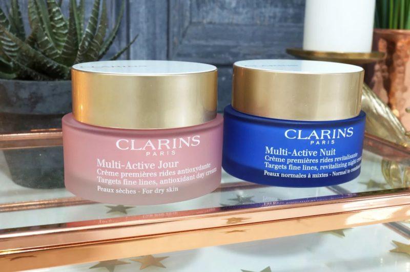 Clarins Multi-Active дневной и ночной крем от морщин