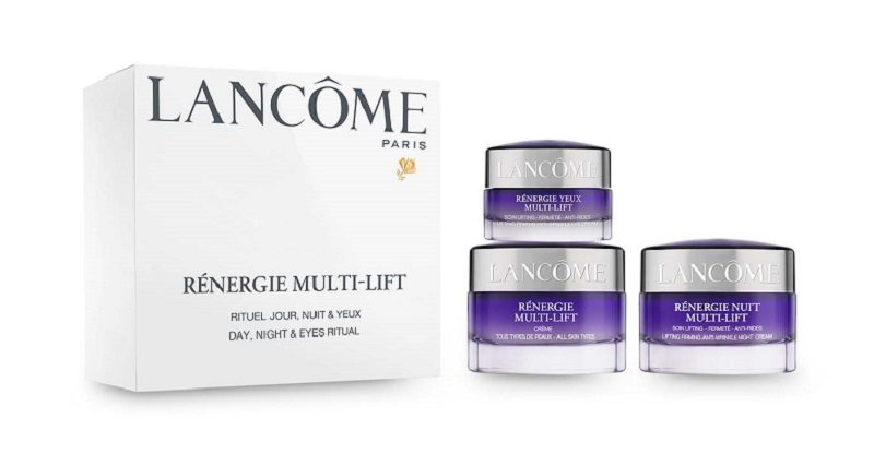 Lancôme Rénergie Nuit Multi-Lift лучшая антивозрастная люксовая линейка