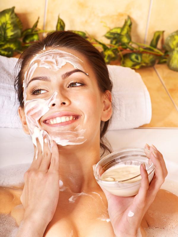 как сделать очищающую маску для лица