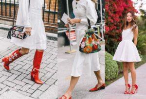 красные туфли