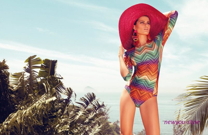 пляжная мода - шляпка