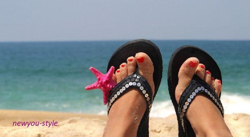 пляжная обувь 2019