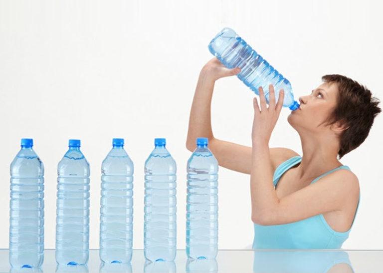 пить много воды для похудения