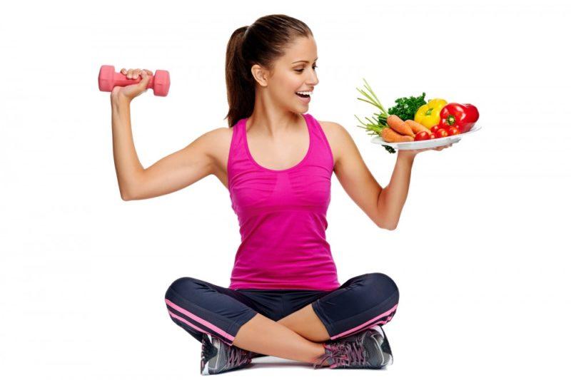 поднятие тяжестей для похудения