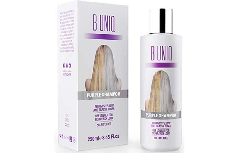 B-UNIQ-Purple-шампунь для осветленных волос