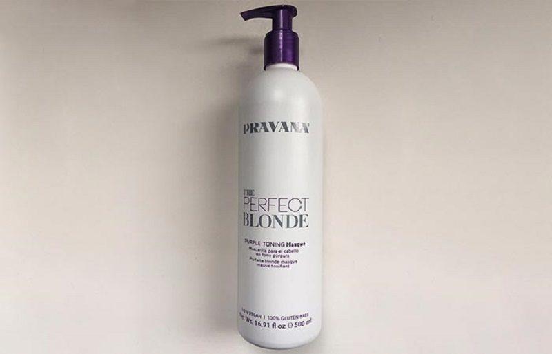 pravana - идеальная тонируящая маска блонд