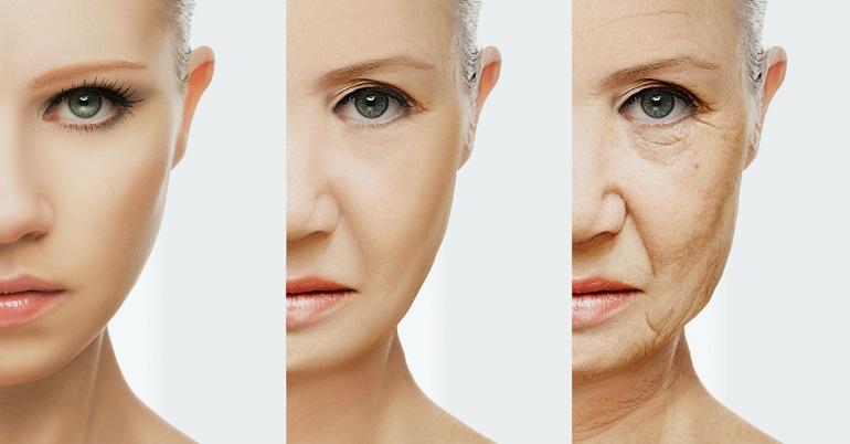 причины и признаки раннего старения кожи