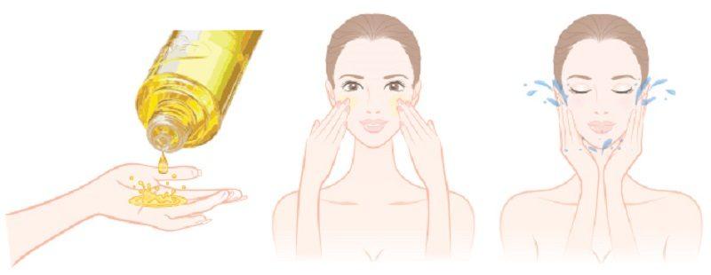 применение гидрофильного масла для лица