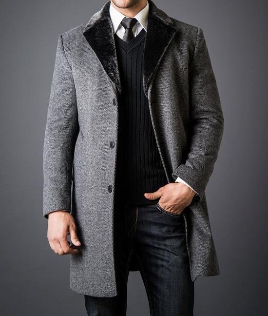 мужское зимнее пальто 2020
