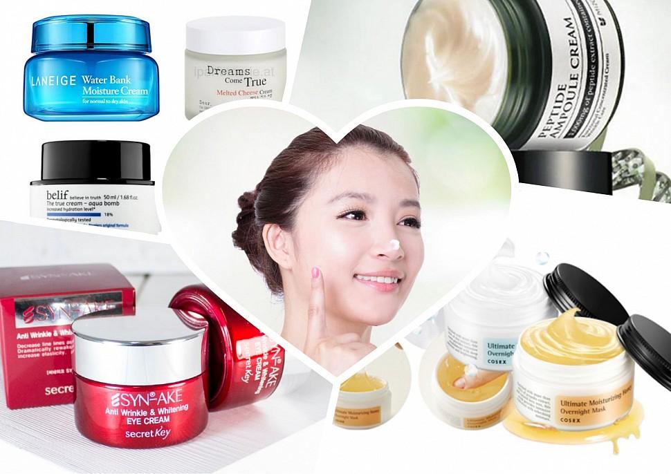 Лучшие корейские крема для лица после 35-40